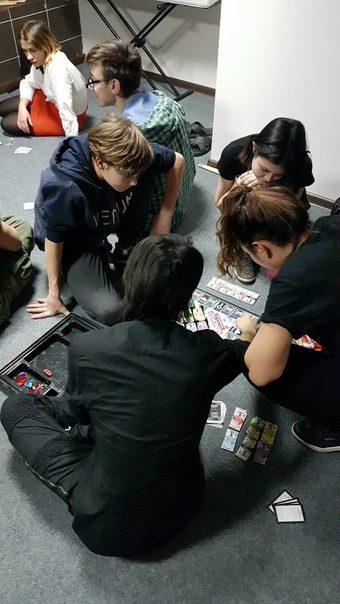 Настольные игры в антикинотеатре